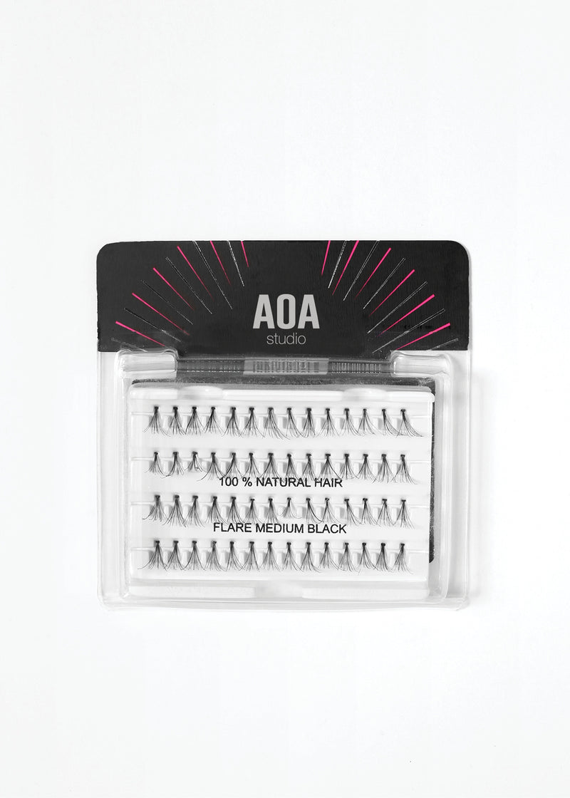 AOA Studio Eyelashes - Flare Medium