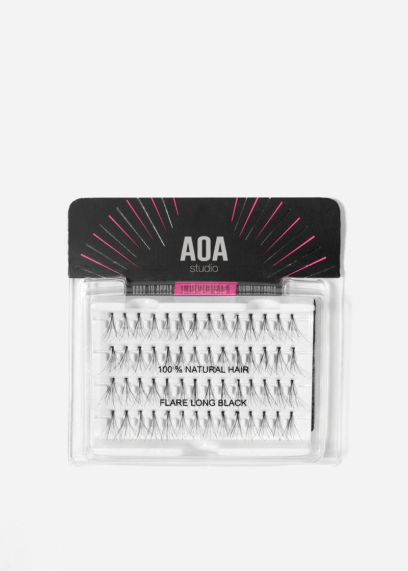 AOA Studio Eyelashes - Flare Long