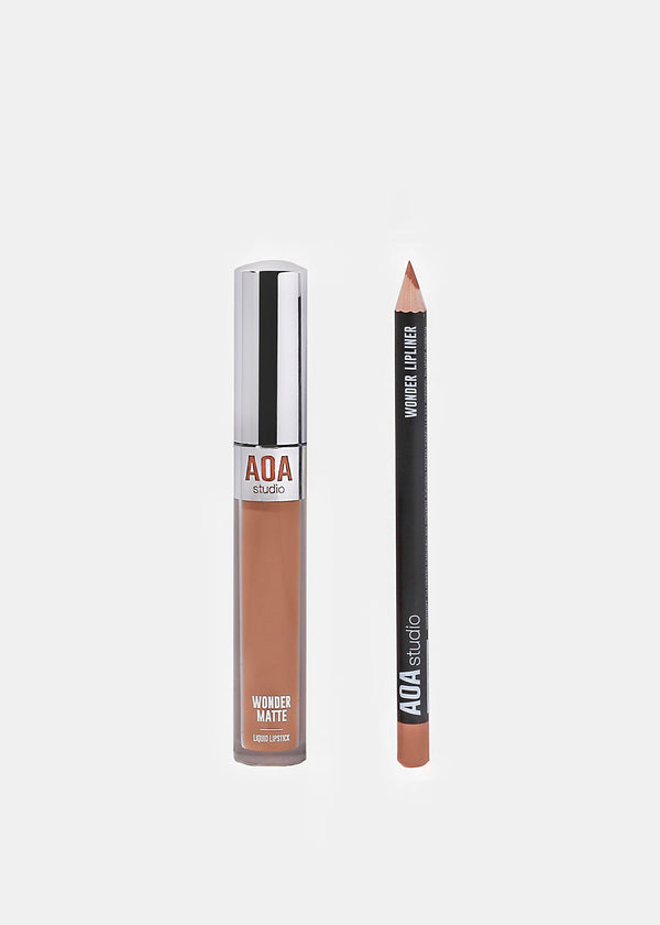 AOA Wonder Matte Liquid Lipstick- Naked