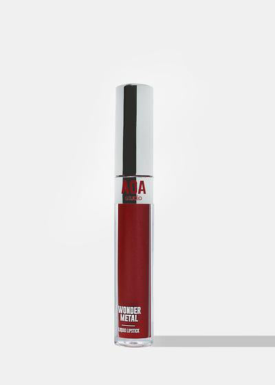 AOA Wonder Metal Liquid Lipstick - Naughty