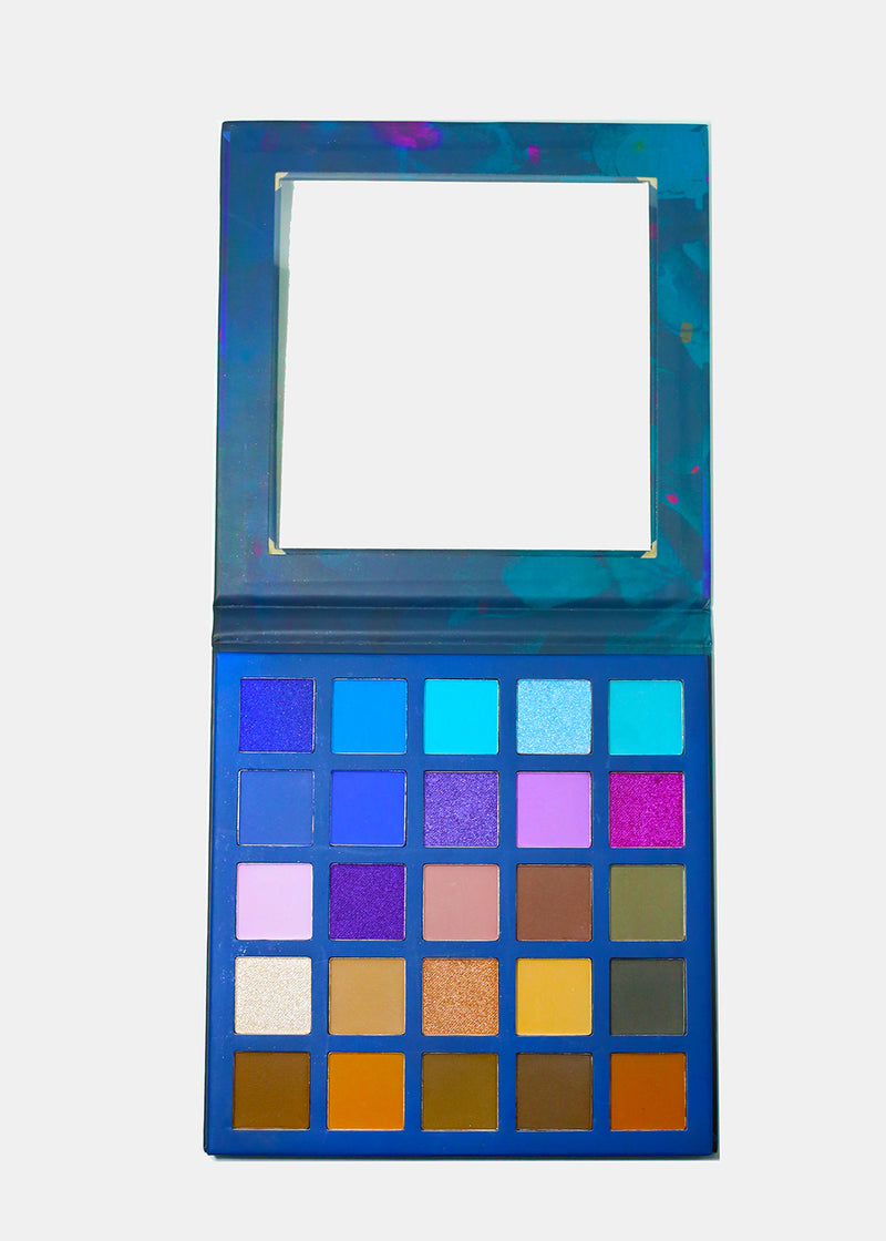a2o 25-Color Eyeshadow Palette - Violets Are Blue