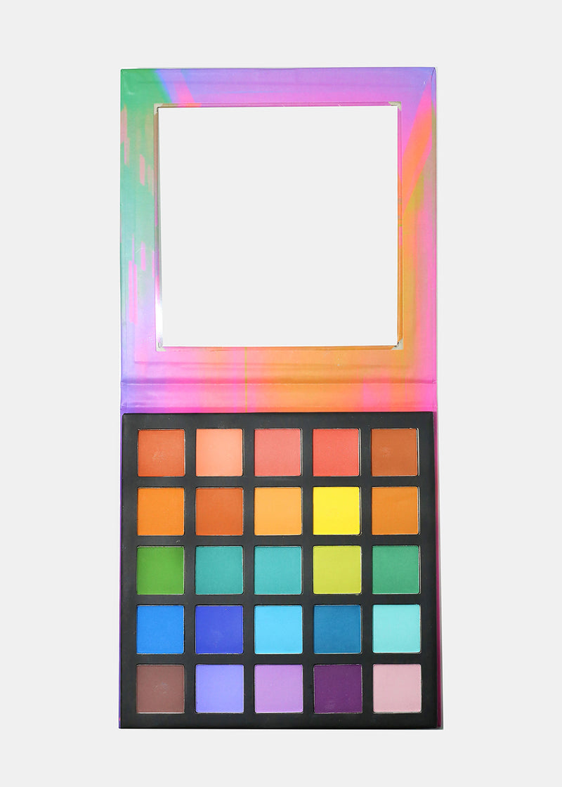 a2o 25 Color Eyeshadow Palette - Over the Rainbow