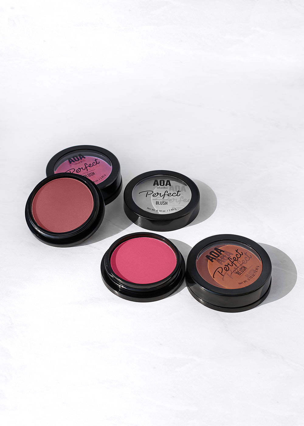 AOA Perfect Powder Blush - Auburn