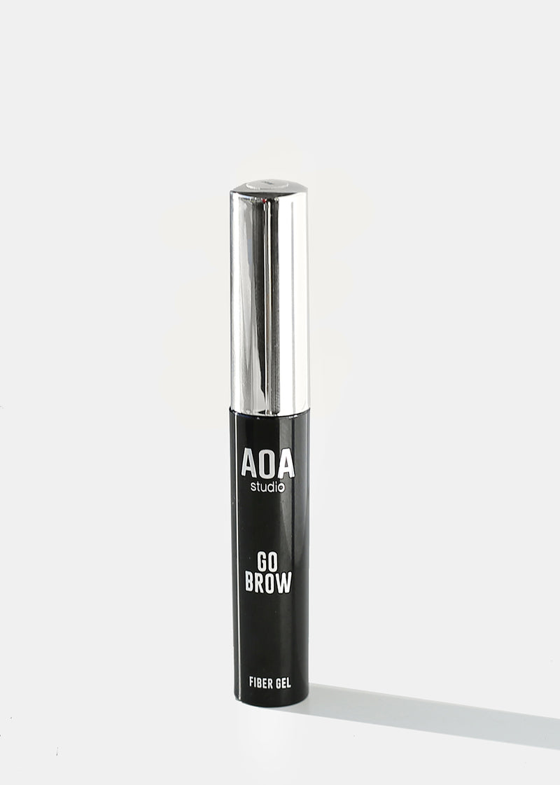 AOA Go Brow Mascara - Medium Brown