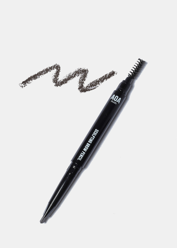 AOA Sculpting Brow Pencil - Ebony