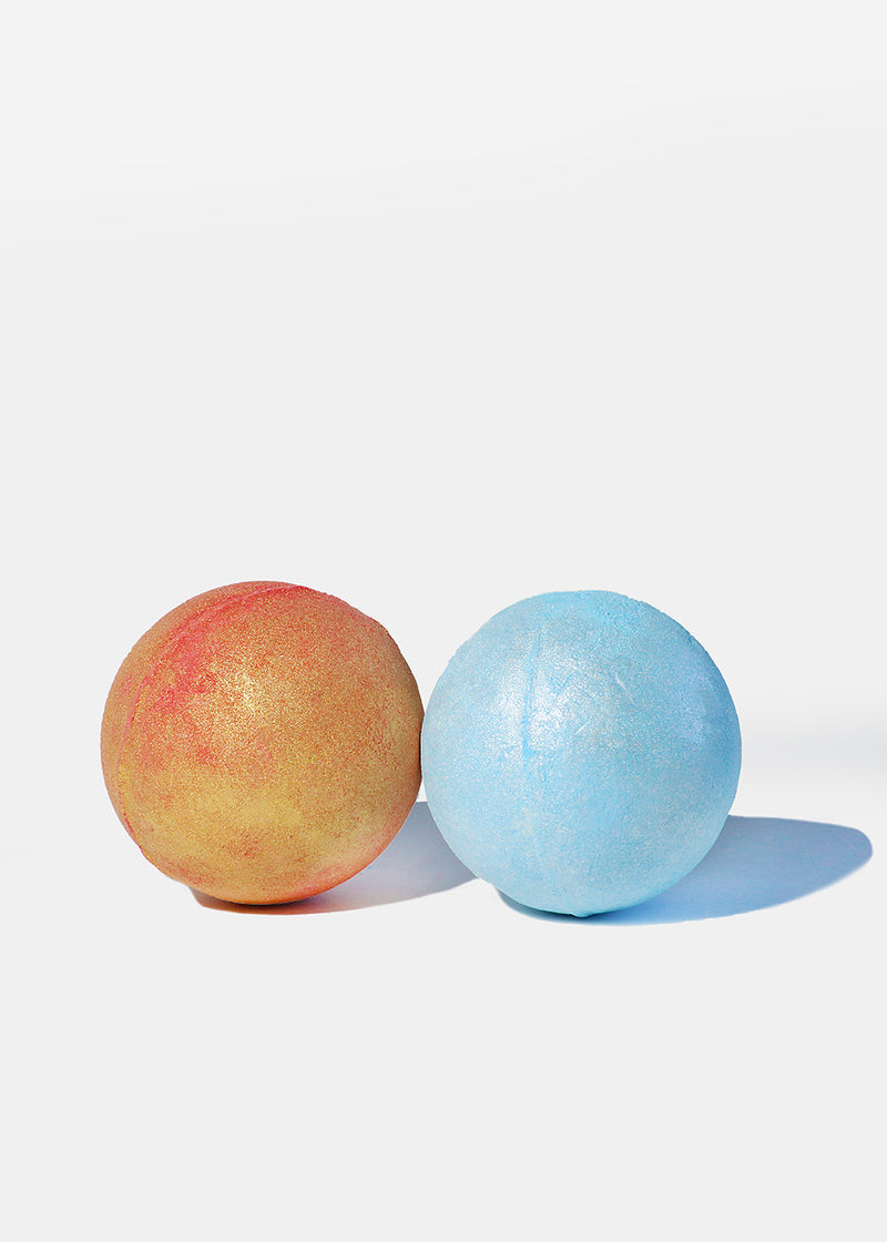 a2o Bath Bomb- Berry Gold Sparkle