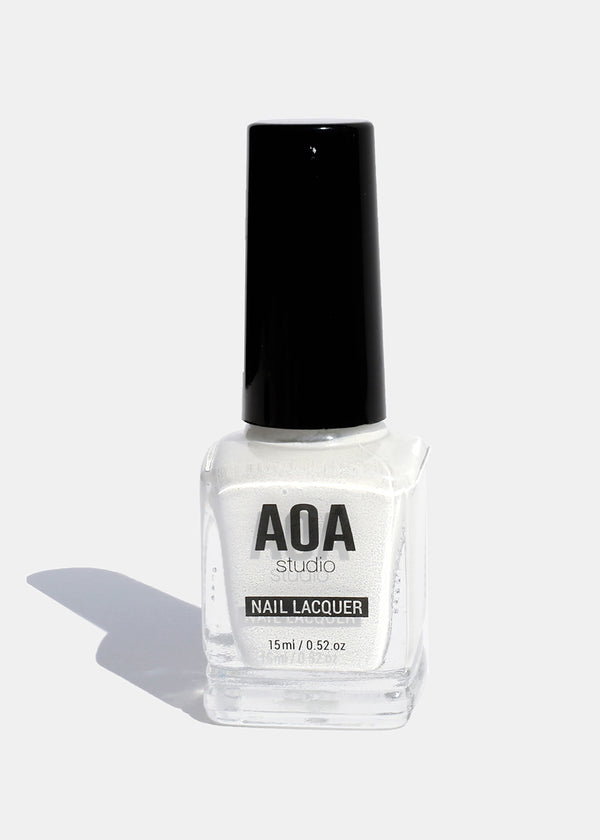 AOA Nail Polish - White