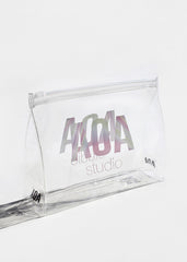 AOA Clear Makeup Pouch - AOA