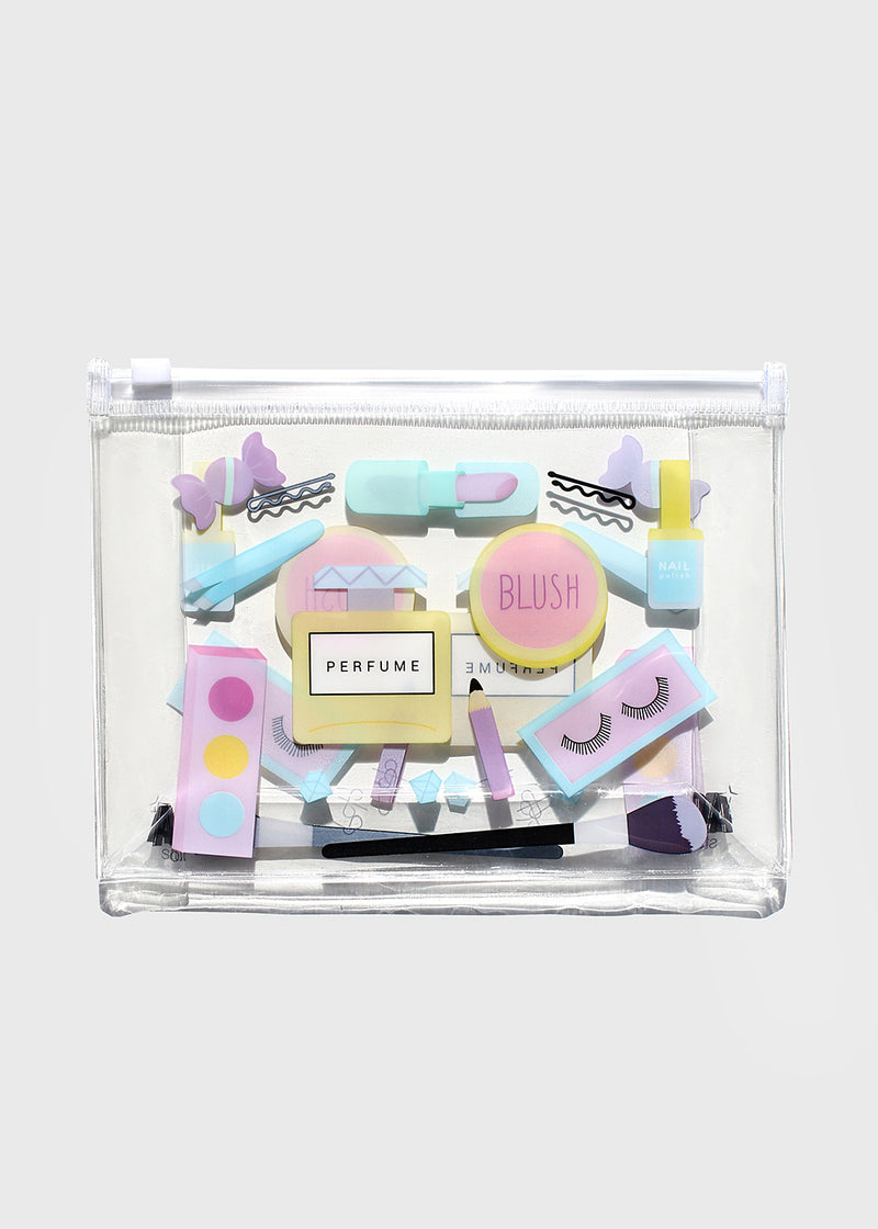 AOA Clear Makeup Pouch - Beauty Kit