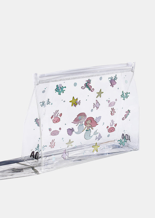 AOA Clear Makeup Pouch - Under The Sea