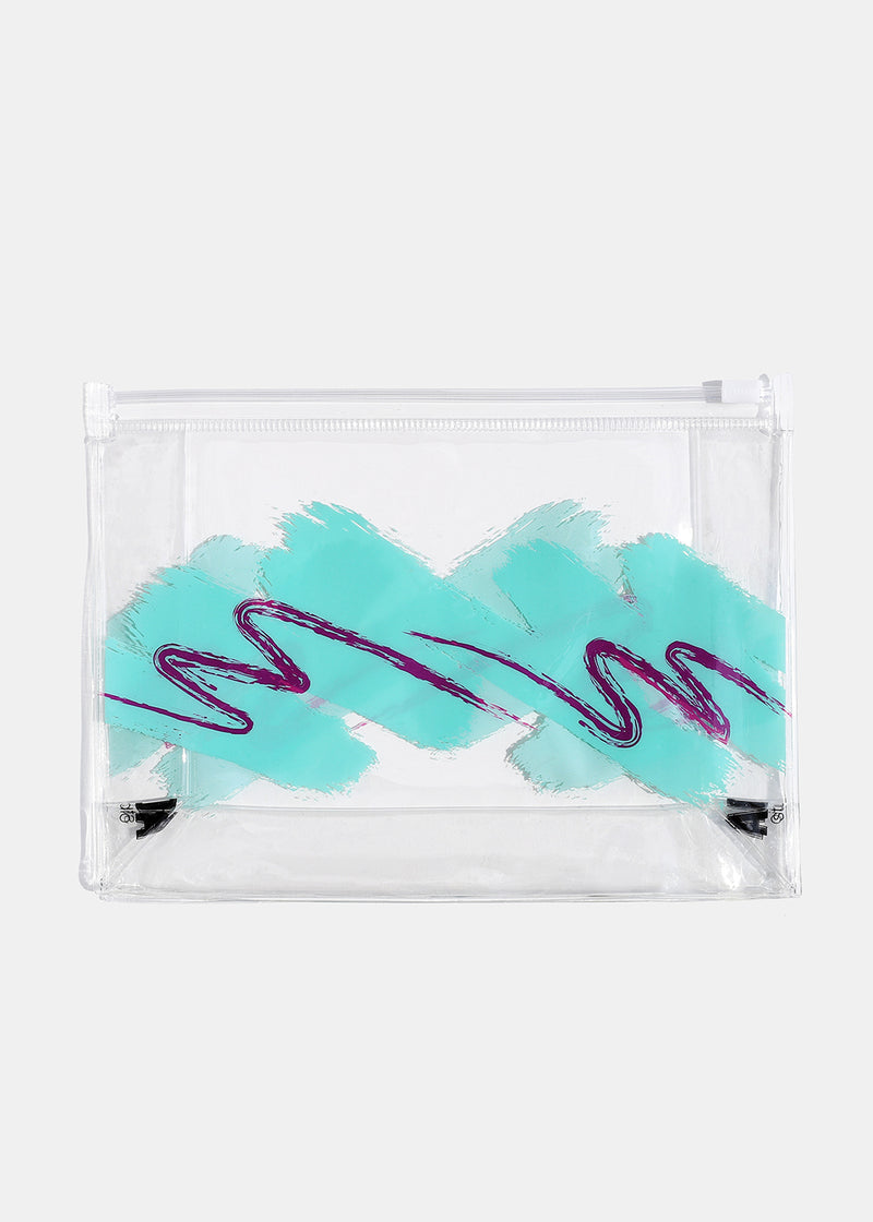 AOA Clear Makeup Pouch - Styrofoam Cup