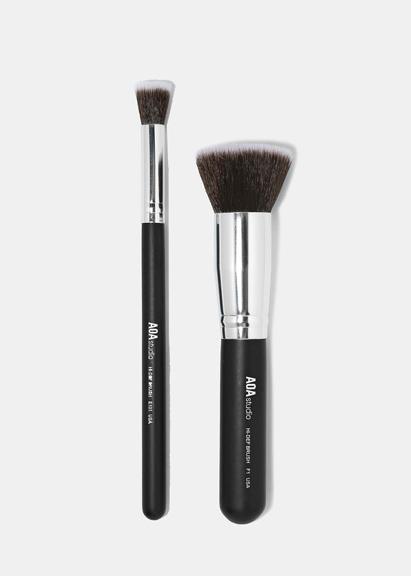 The F1 & E101 Kabuki Brush Duo