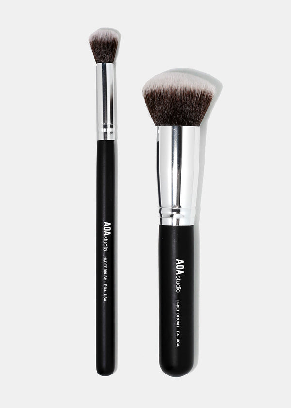 The F4 & E104 Kabuki Brush Duo