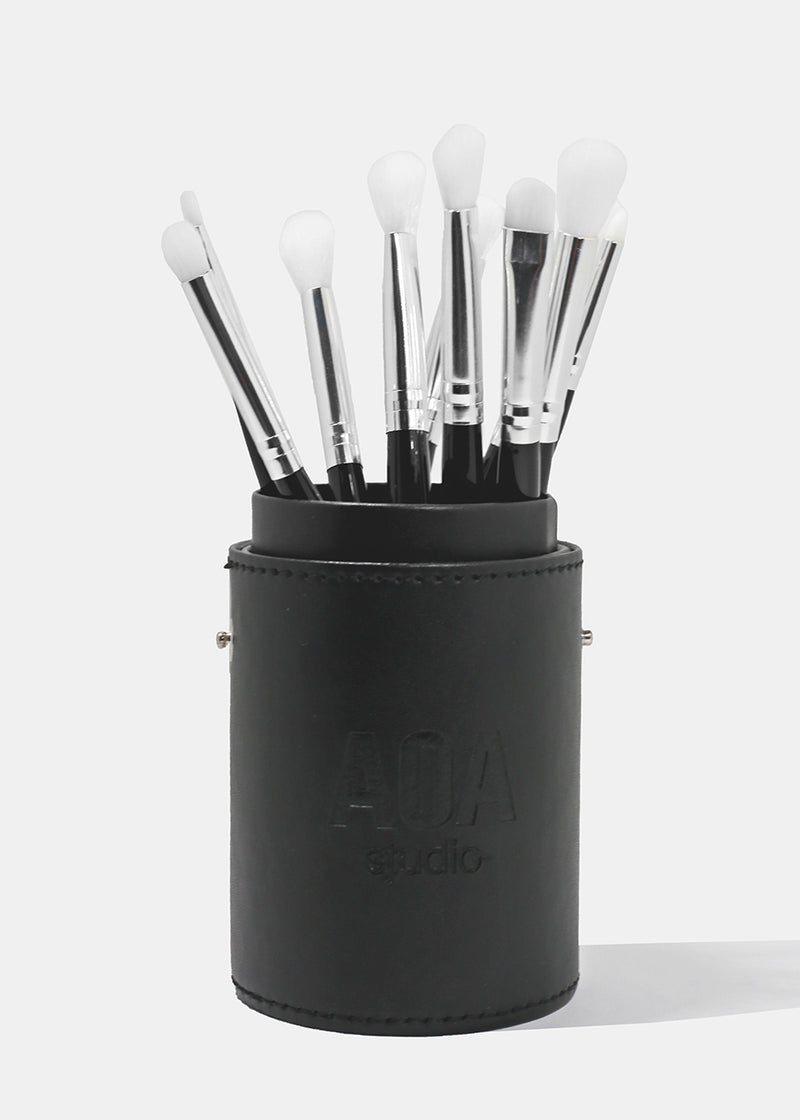 Paw Paw: All About Eyes Brush Set - Black