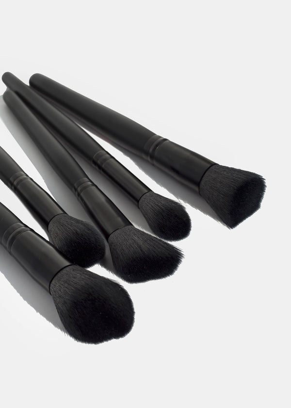 AOA Plush Faux Mink Brush Set