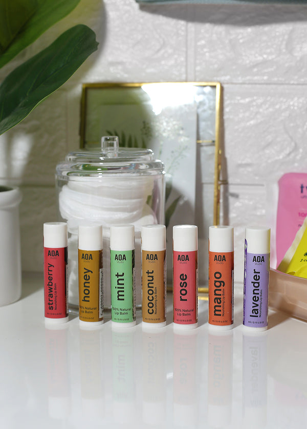AOA Natural Nourishing Lip Balms