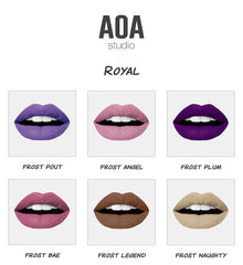 "AOA Wonder Liplock - ""Royal"" Frosted Mattes"