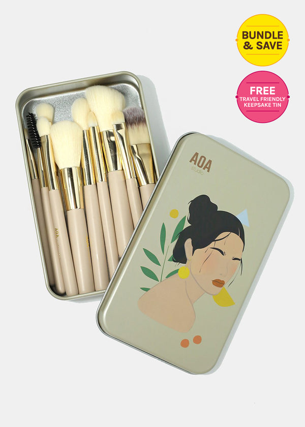 AOA Petite Brush Set + Keepsake Tin
