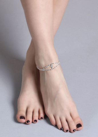 Cross Dangle Anklet