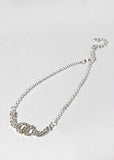 Double Circle Rhinestone Anklet