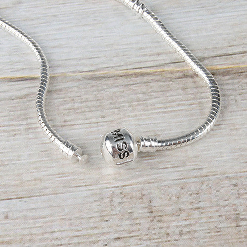 Miss A Bead Charm Foundation Bangle - Medium
