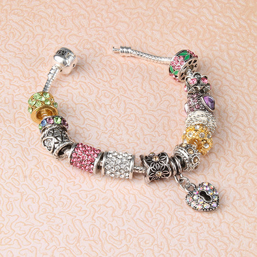 Miss A Bead Charm Foundation Bangle- Small