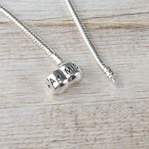Bead Material Blender ~ Miss a bead charm necklace foundation shop