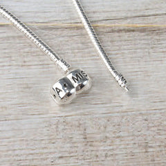 Miss A Bead Charm Necklace Foundation
