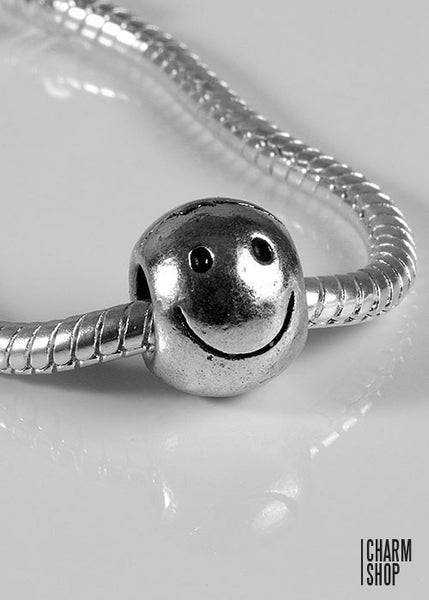 Smiley Face Bead Charm