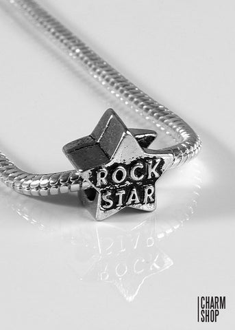 Rock Star Bead Charm