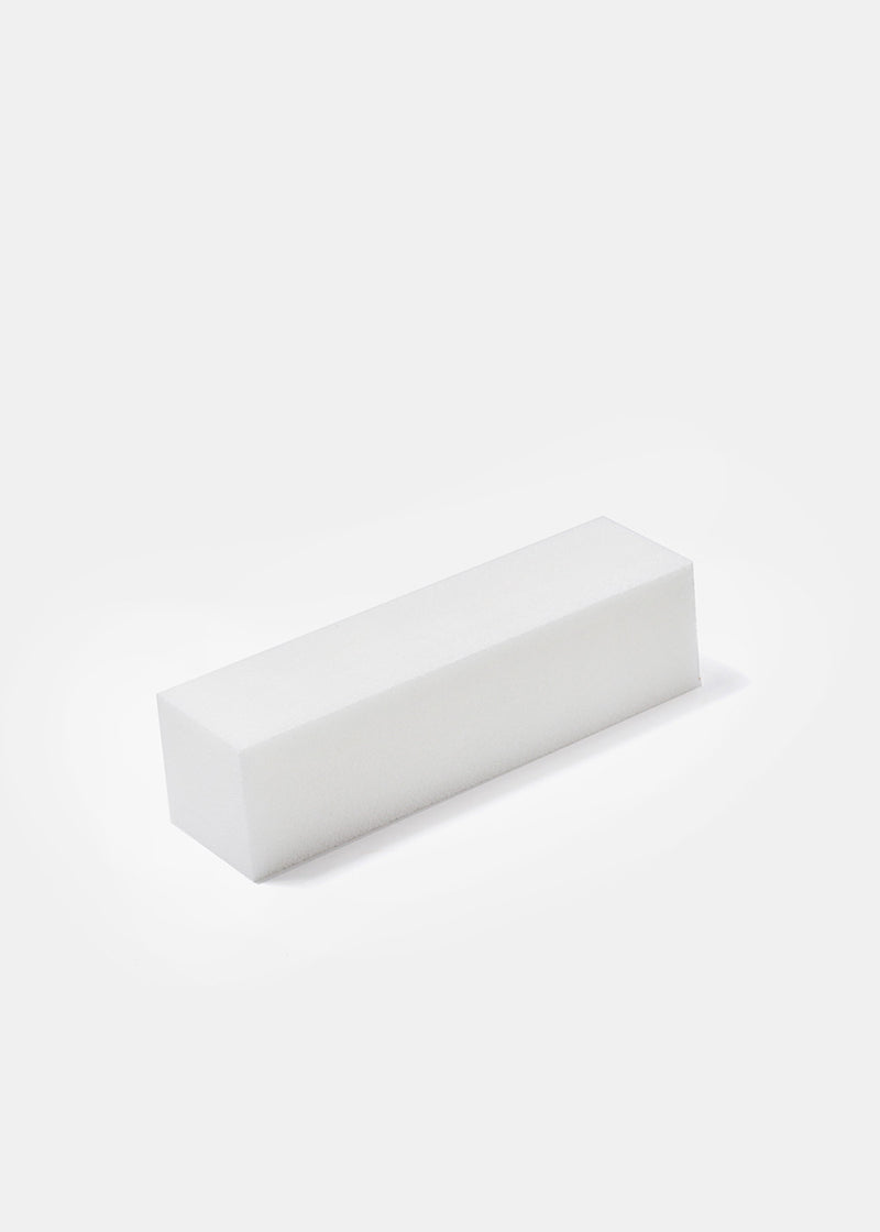 White Nail Buffing Block