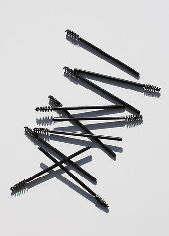 10 Disposable Mascara Wands Set
