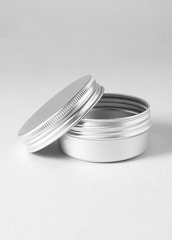 Silver Travel Beauty Container