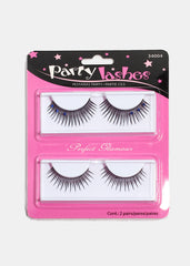 Party Lashes- Dramatic Lashes with Outer Crystals