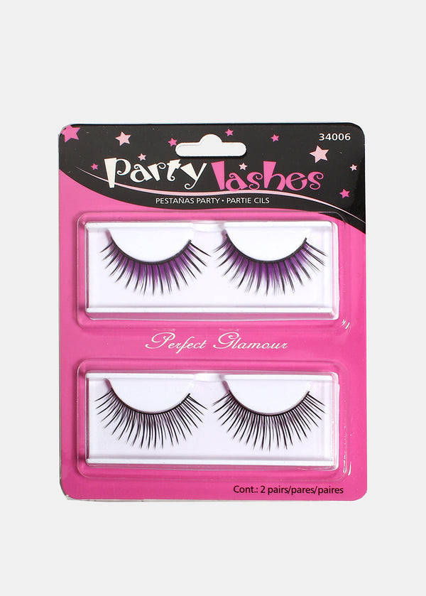 Party Lashes- Dramatic with Bright Colors
