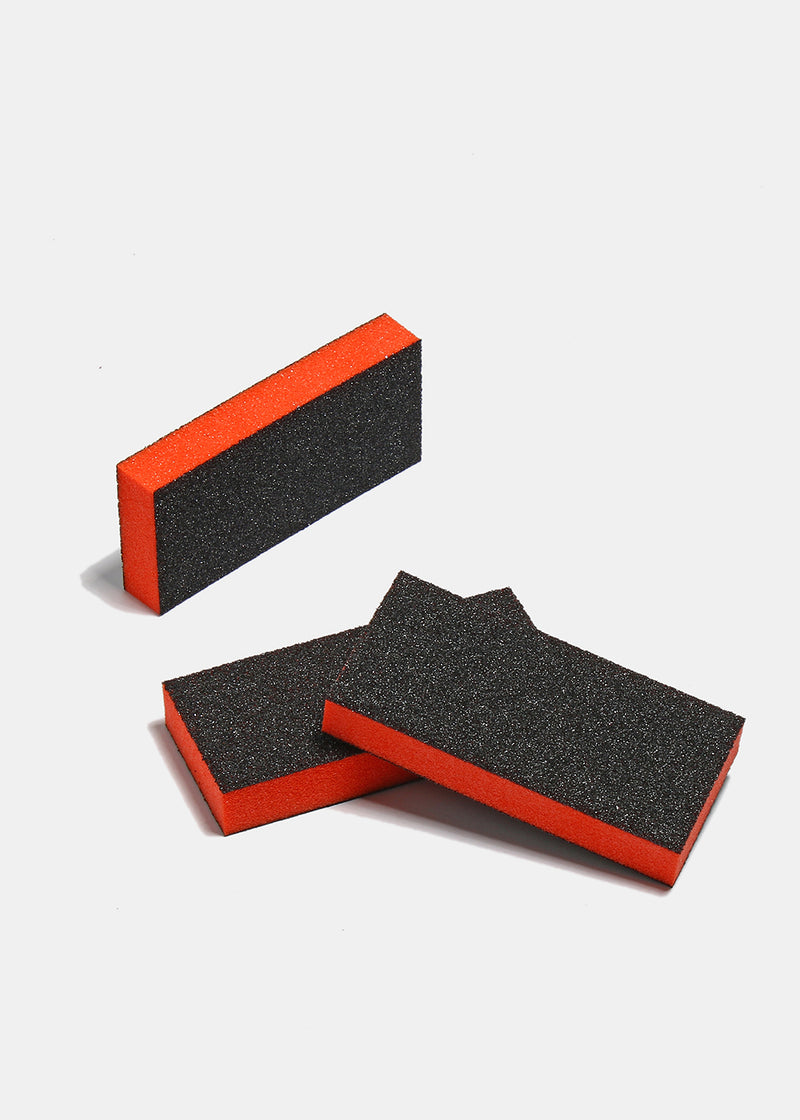 Slim Sanding Block- Black/Orange