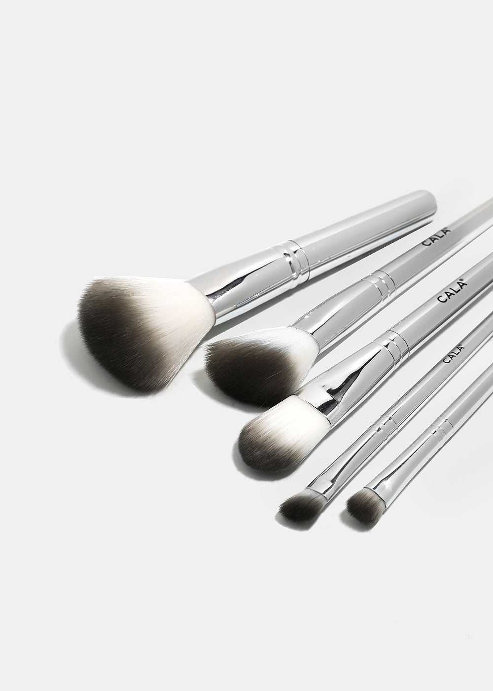 Cala 5 Piece Travel Brush Bundle