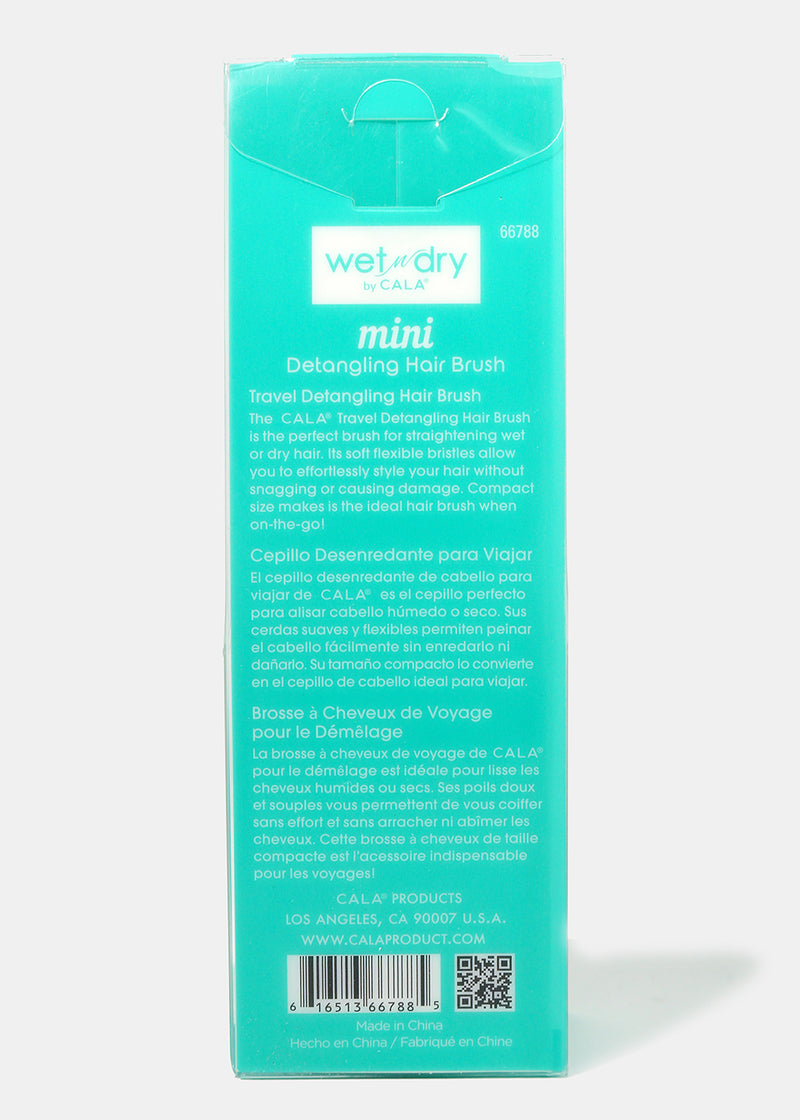 Wet N Dry Mini Hair Brush Teal
