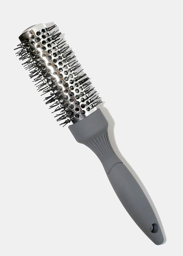 Styling Brush Metallic Silver-34MM