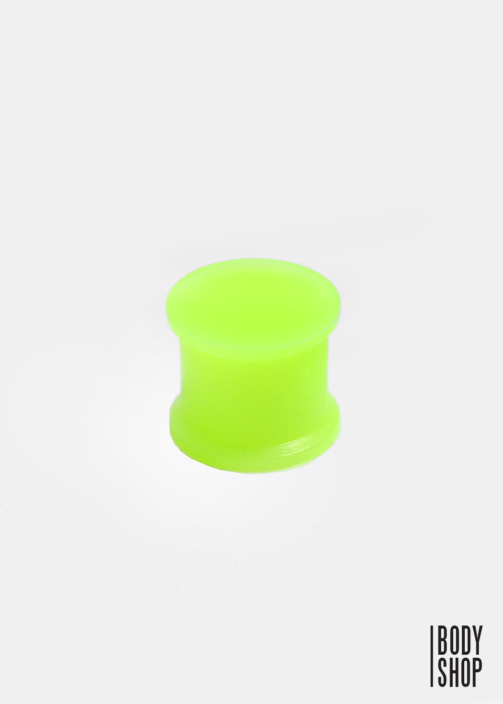 Double Flared Glow in the Dark Silicone Flexible Plug (1/2GA)