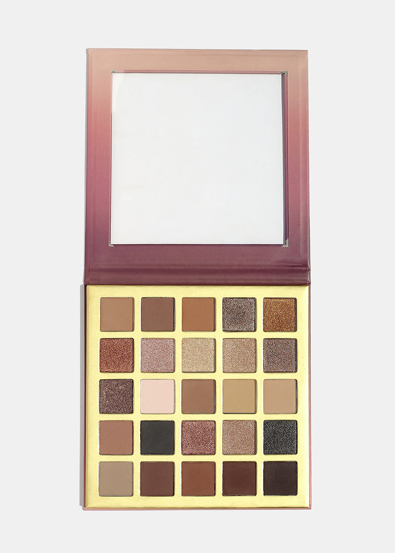 a2o 25 Color Eyeshadow Palette- Bare
