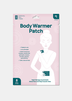 Official Key Items Body Warmer Adhesive Patch
