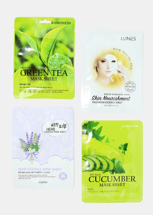 12-Piece Good Skin Sheet Mask Set