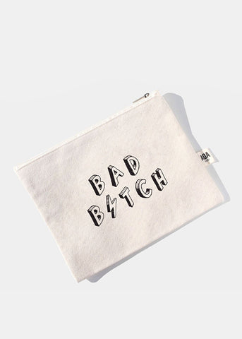 AOA Canvas Pouch - Bad B⚡️tch
