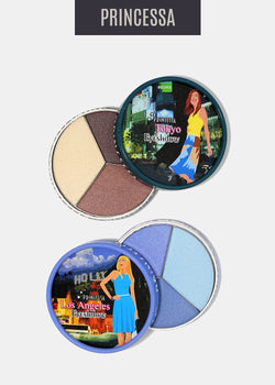 Princessa City Eyeshadow Trio