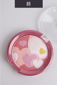 BR Heart Mosaic Blush + Highlighter
