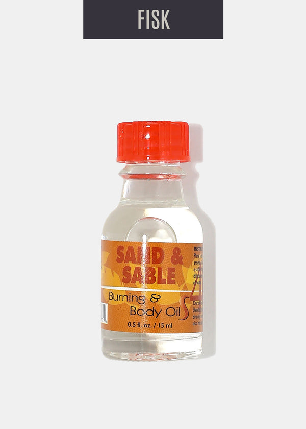 Difeel Burning & Body Oil- Sand & Sable