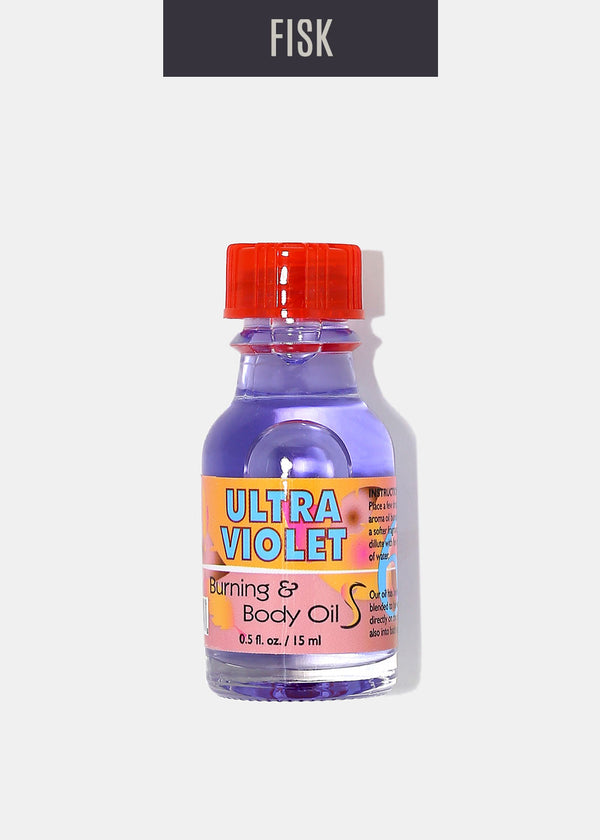 Difeel Burning & Body Oil- Ultra Violet