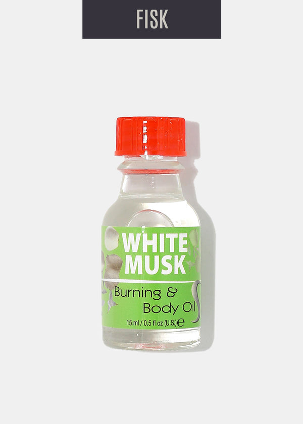 Difeel Burning & Body Oil- White Musk