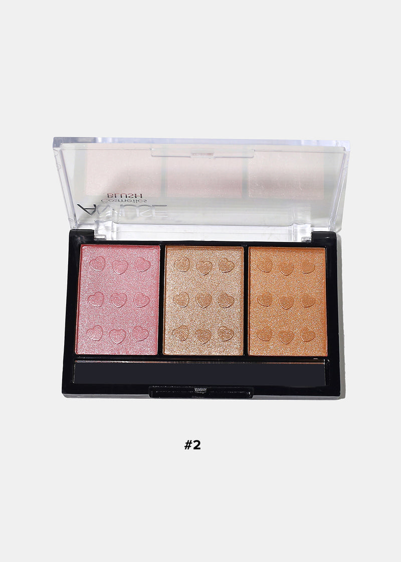 Amuse 3 Color Blush